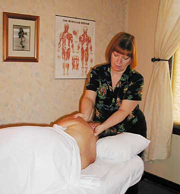 Kelli Reilly, licensed massage practitioner
